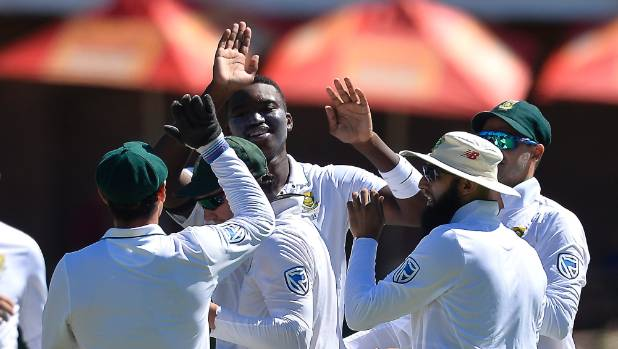 Kagiso Rabada stars, South Africa level test series with second test victory