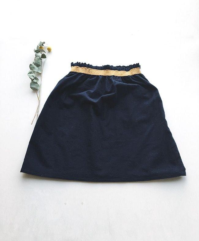 DIY mode: coudre une jupe taille élastique