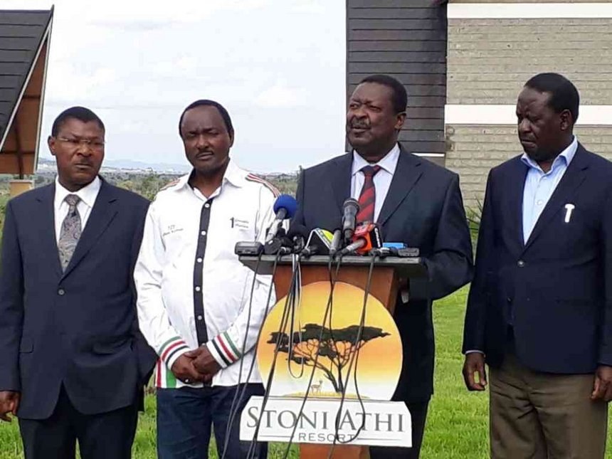 Nasa meeting: Mudavadi welcomes talks on 'extremely weighty matters'