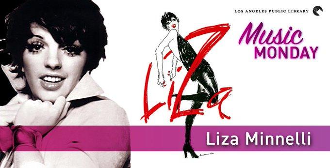 New Blog Post:  Music Monday: Happy Birthday, Liza Minnelli!