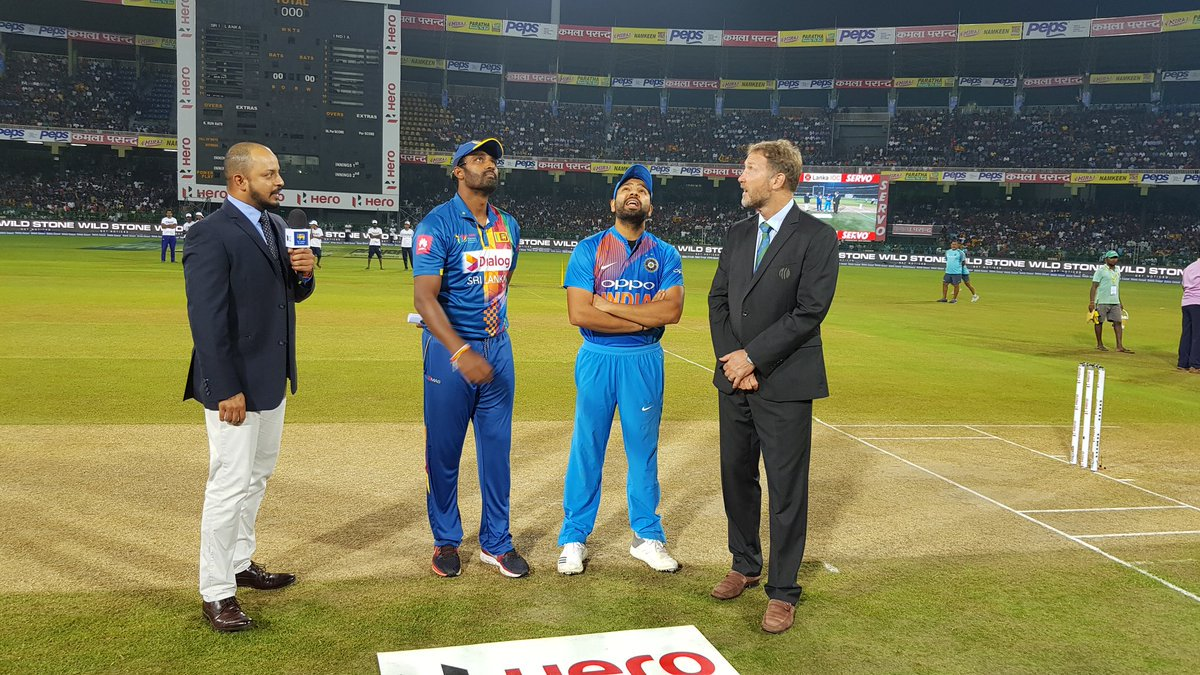 Nidahas Trophy 2018, India v/s Sri Lanka 4th T20 live: Rohit Sharma wins toss, elects to field first