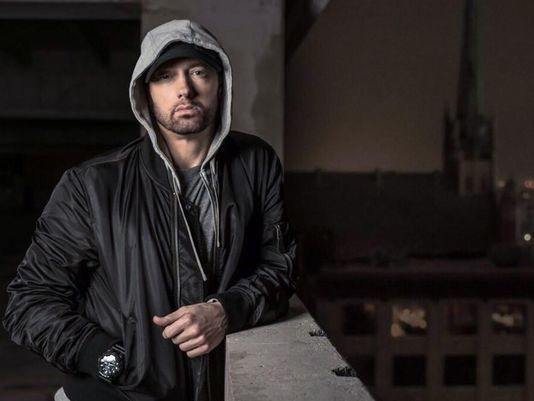 Eminem on NRA: 'They love guns more than our children'