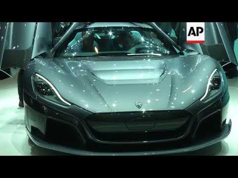 Electric, autonomous and high tech futuristic cars