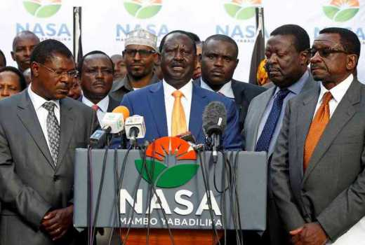 We asked Raila to explain himself on his Friday deal with Uhuru