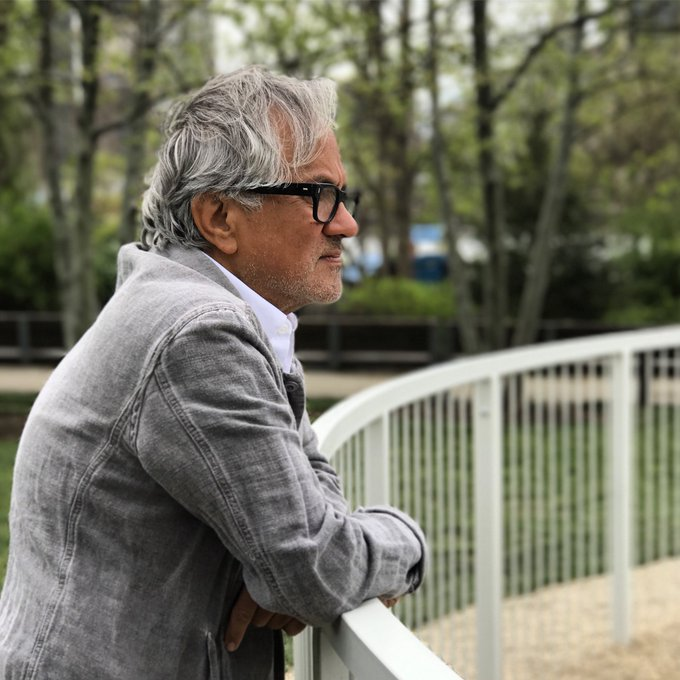 Wishing a very happy birthday to two-time Anish Kapoor, who makes the public stop in their tracks.