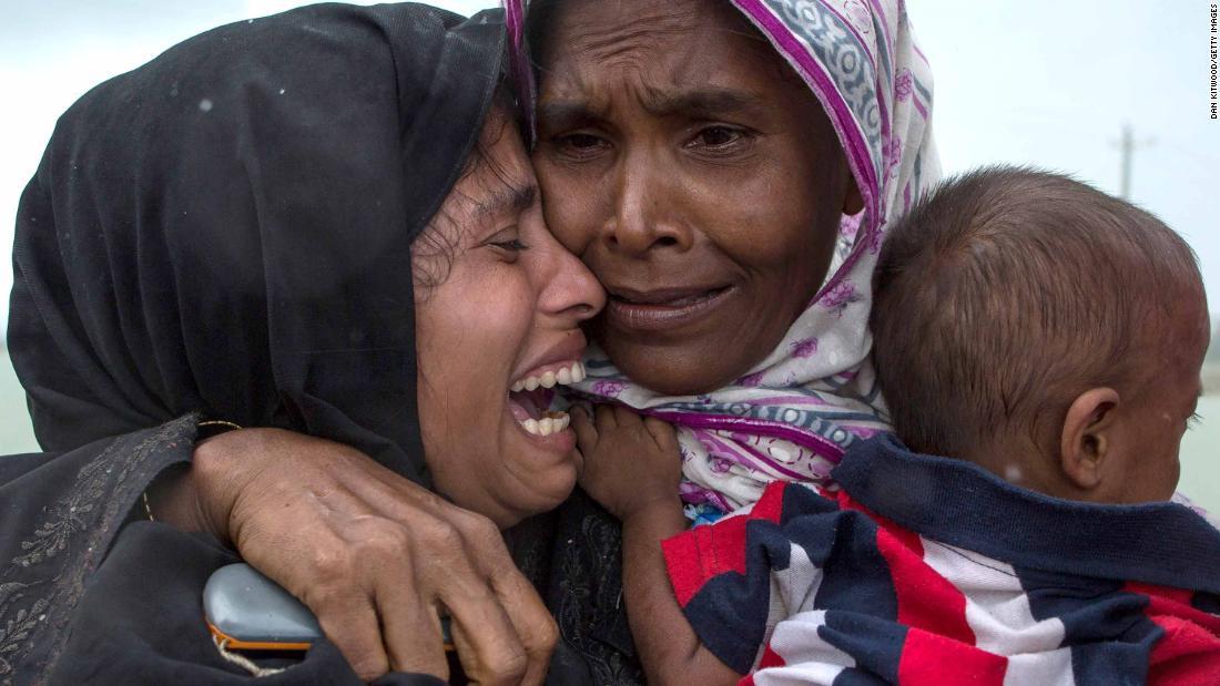 UN official convinced of Myanmar Rohingya 'genocide'