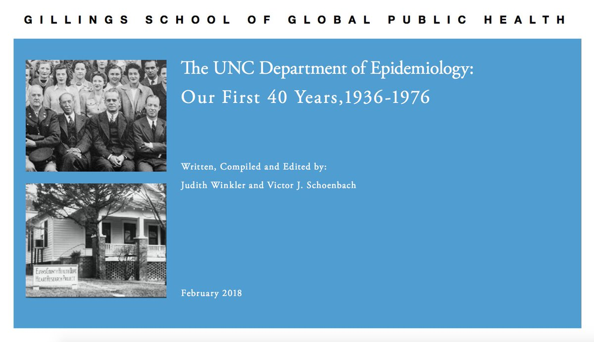 test Twitter Media - If you love #publichealth AND history, here's some good news: Our Department of #Epidemiology has published an account of the first half of their fascinating -- and world-changing -- story. https://t.co/lqfaa39Rg6 https://t.co/uXqVrGChgg