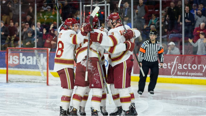 DU 'Grinds Down' CC 6-1, Advances To Frozen Four