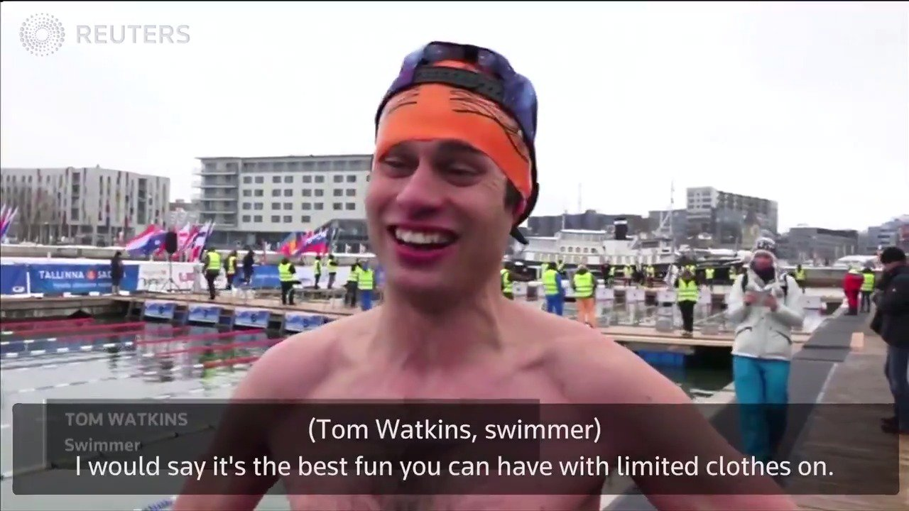 Swimmers take a sub-zero plunge in Estonian swimming championship https://t.co/TWsHKtBWMD https://t.co/NQwlDyrsEl