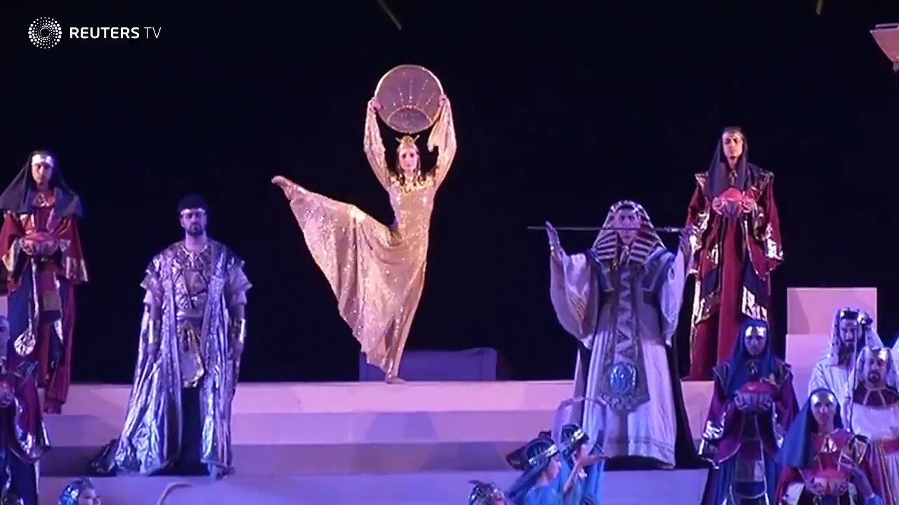 WATCH: A historic opera is staged at Egypt's pyramids. More from @ReutersTV: https://t.co/diEsEbZ7Aa https://t.co/wMwqIIdFks