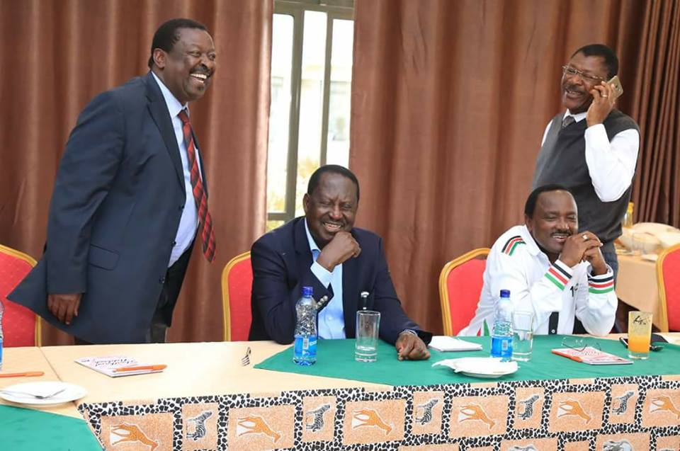 NASA has outlived its usefulness and Kalonzo only wants to use Raila - Mutahi Ngunyi