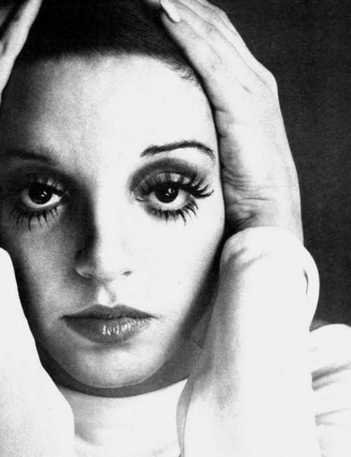 Happy birthday to Liza Minnelli. Photo by Richard Avedon, 1974.