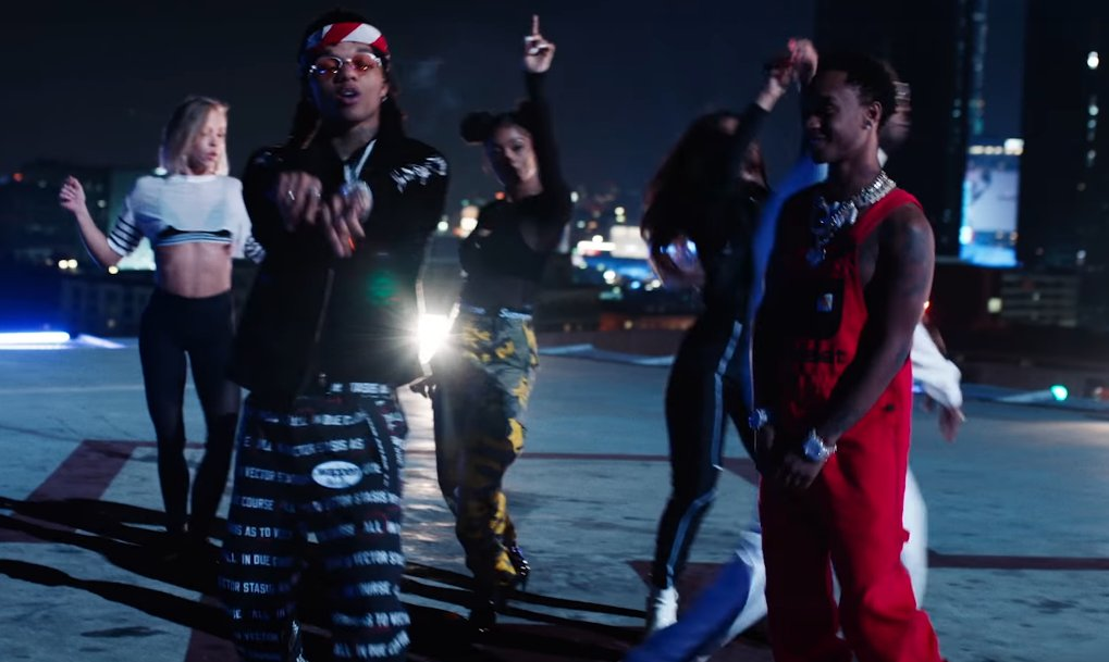 """Rae Sremmurd and Juicy J's """"Powerglide"""" video is fast and furious. https://t.co/3IApWpiVko https://t.co/w4C2b3MsmP"""