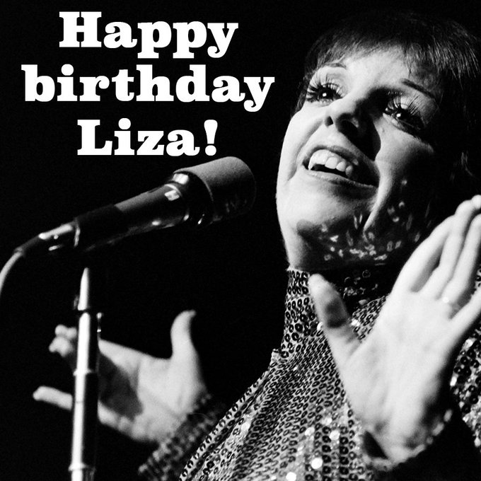 Happy birthday to Liza Minnelli, who turns 72 today! What\s your favorite Liza role?