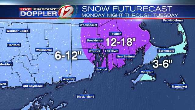 Blizzard-like conditions possible during Tuesday snowstorm
