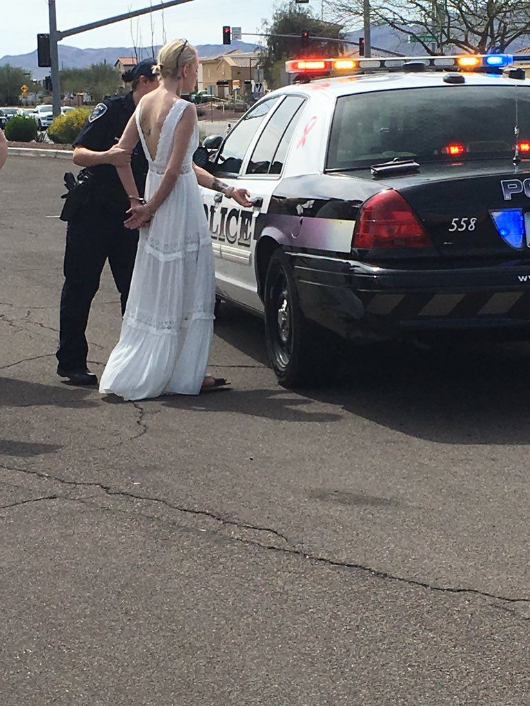 THERE GOES THE BRIDE: Woman arrested for DUI on way to wedding