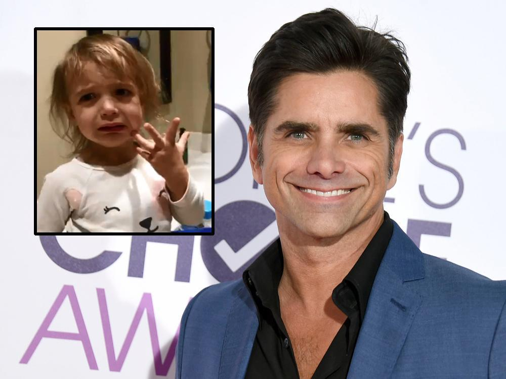 'I want Uncle Jesse': John Stamos FaceTimes tearful three-year-old 'Full House' fan