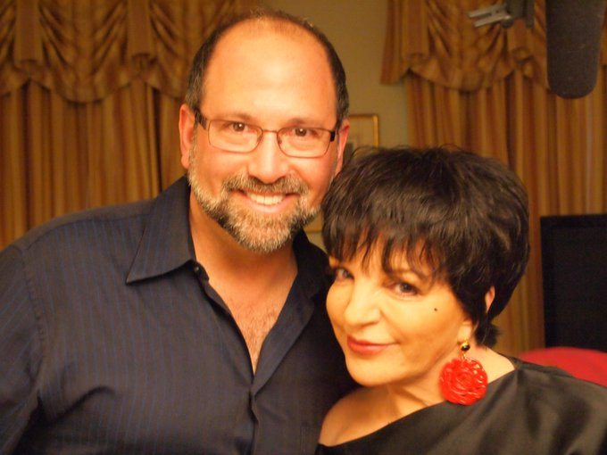 Happy Birthday to the legendary Liza Minnelli, pictured with director Gary Leva.