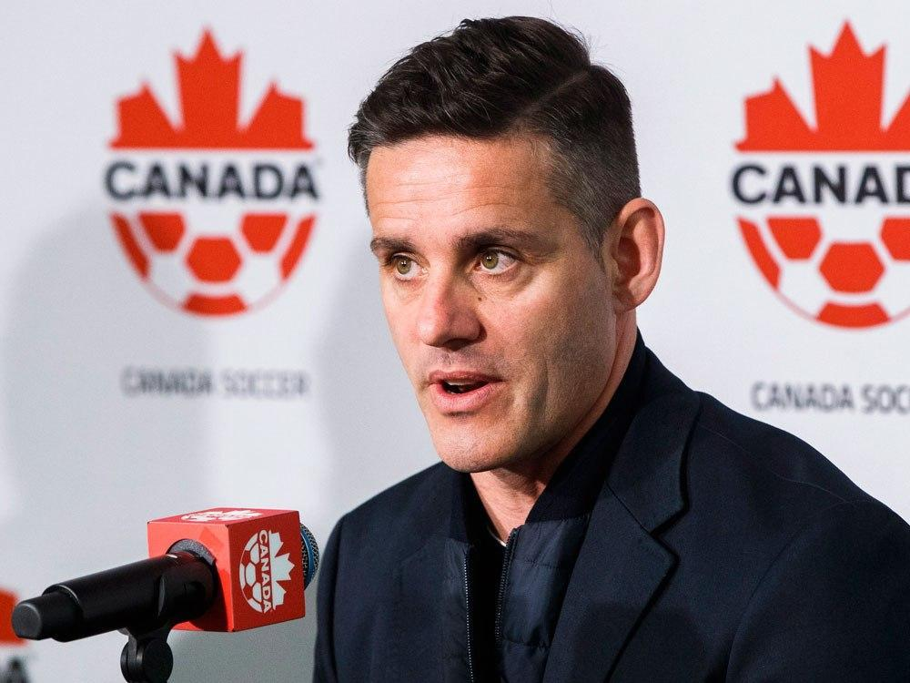 Herdman announces first roster as Canada's men's soccer coach