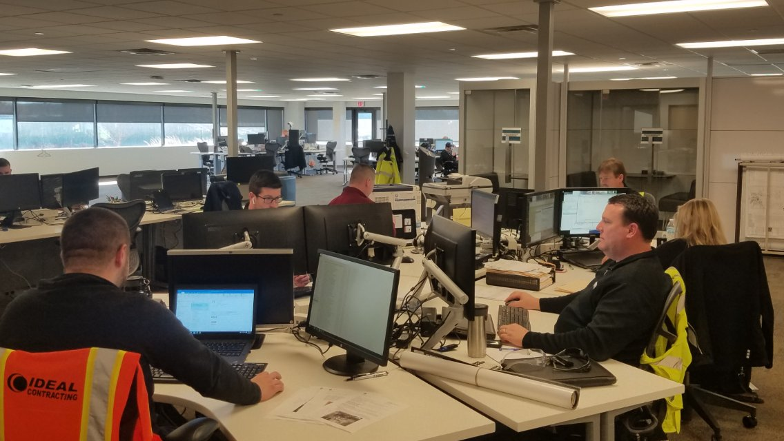 """test Twitter Media - Congratulations to Paul, Project Manager, for winning our monthly Photo Contest! """"General Motors Milford Proving Grounds team in the new transformation space built by Ideal."""" - Paul Blanchett https://t.co/PCLEioLW6H"""