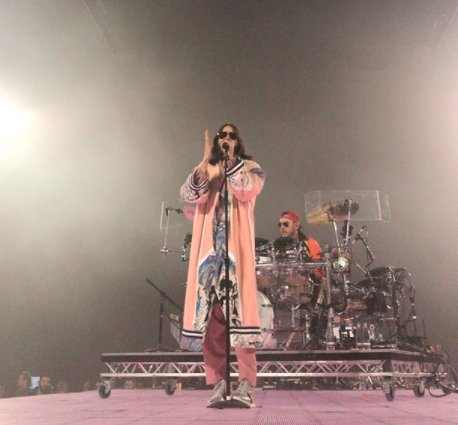 First show of the #MONOLITHTOUR // Basel, Switzerland. https://t.co/PsTFh8NHRZ