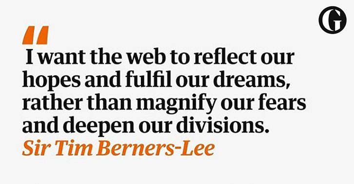 The web can be weaponised – and we can't count on big tech to stop it | Tim Berners-Lee