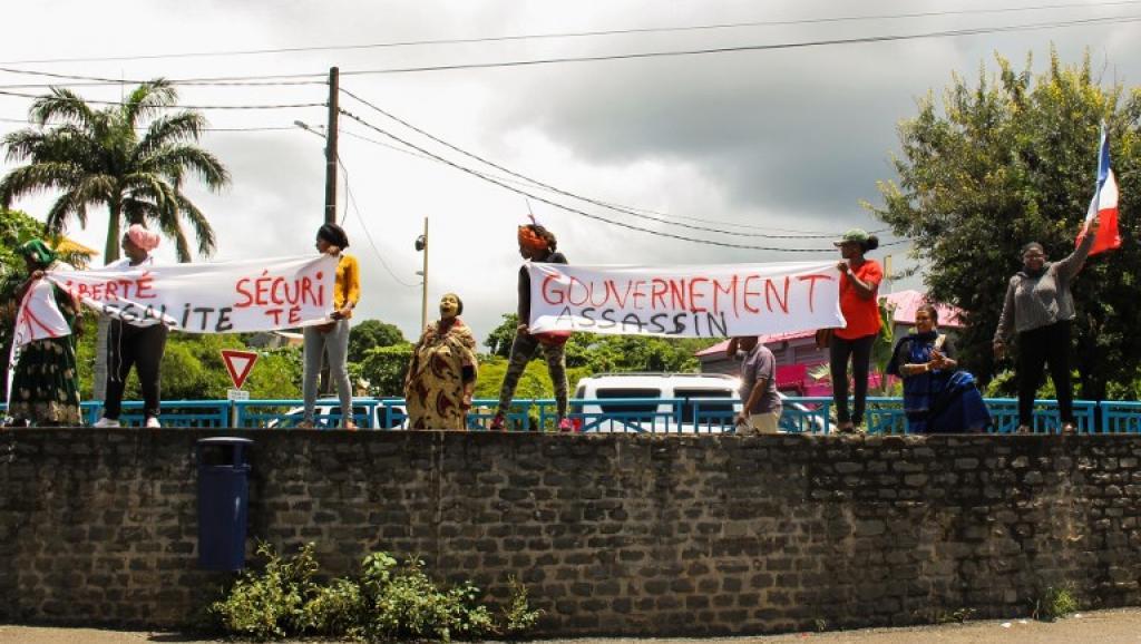 A Mayotte, la colère de la population ne retombe pas