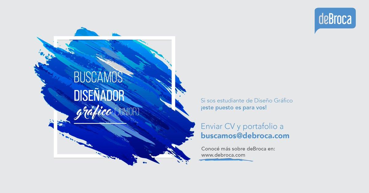 test Twitter Media - Estudiantes de diseño gráfico, les estamos buscando 🕵 esperamos sus CVs y portafolios! 🎨👇#deBrocaTeam #empleo #Paraguay #Diseño https://t.co/PbKazrMS58