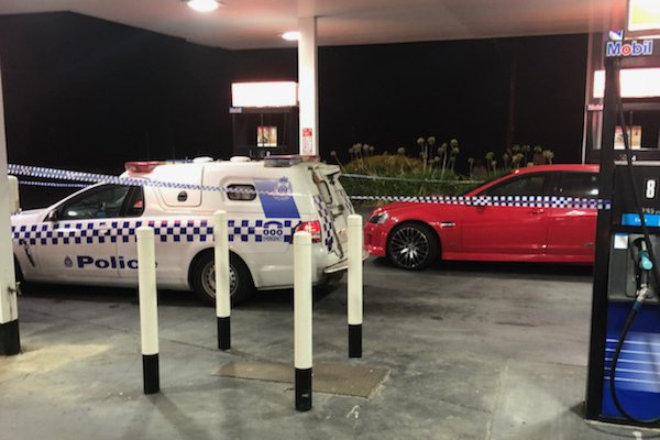Rumour confirmed: Police investigating car shot up at service station