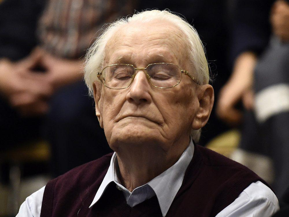 'Accountant of Auschwitz' Oskar Groening reportedly dies in hospital at 96