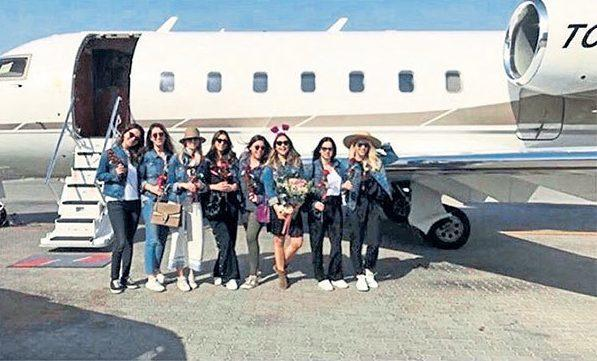 Turkish heiress's Dubai hen party ends in fiery air crash