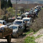 Hundreds of civilians flee as Turkish forces advance on Syria's Afrin city