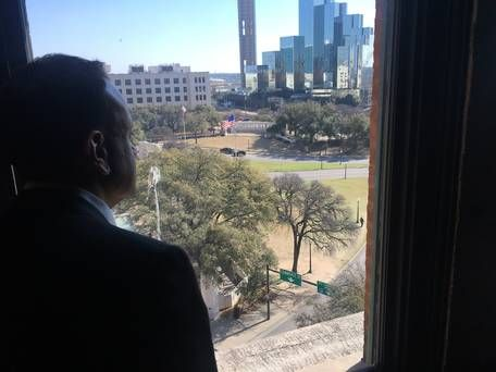 'It's a bit surreal' - Taoiseach Leo Varadkar visits site of JFK assassination in Dallas