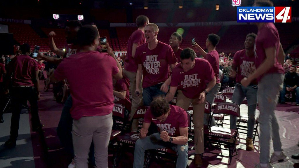 Analysts criticize decision to place OU in NCAA Tournament; leave OSUout