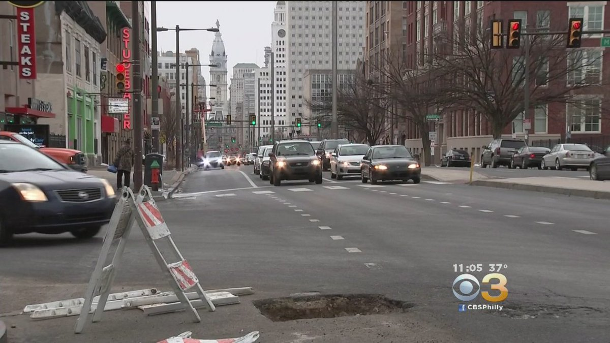 Nearly 24,000 Potholes Repaired In Philly Since January