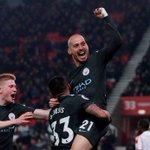 Silva hits stunning double as Manchester City beat Stoke