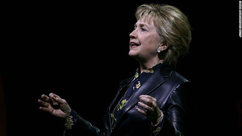 Hillary Clinton: US does 'not deserve' Trump