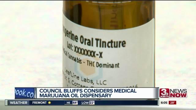 Council Bluffs considers medical marijuana oil dispensary