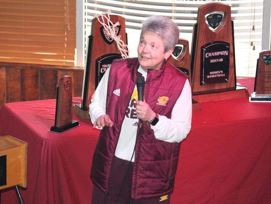 Central Michigan women open with LSU at Columbus, Ohio