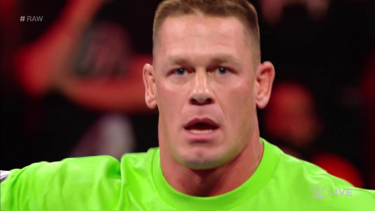 .@JohnCena has officially gone rogue...  He IS challenging The #Undertaker to a match at @WrestleMania! #RAW https://t.co/BXzIyJI5RW