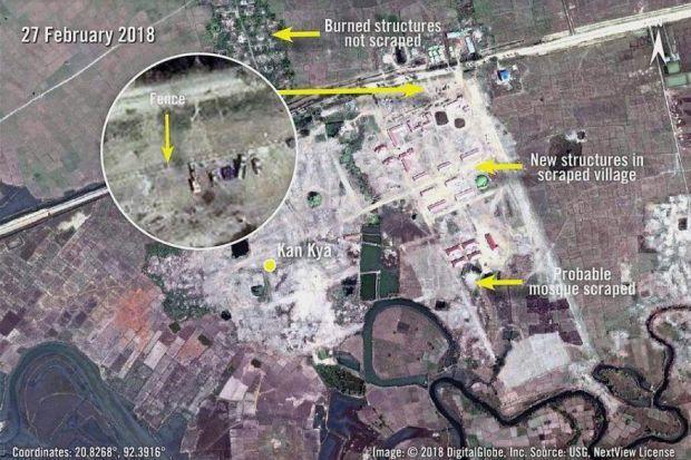Rohingya villages militarised - ASEAN/East Asia