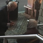 Joe Biden takes time to speak with homeless man outside DC theater, bystander says