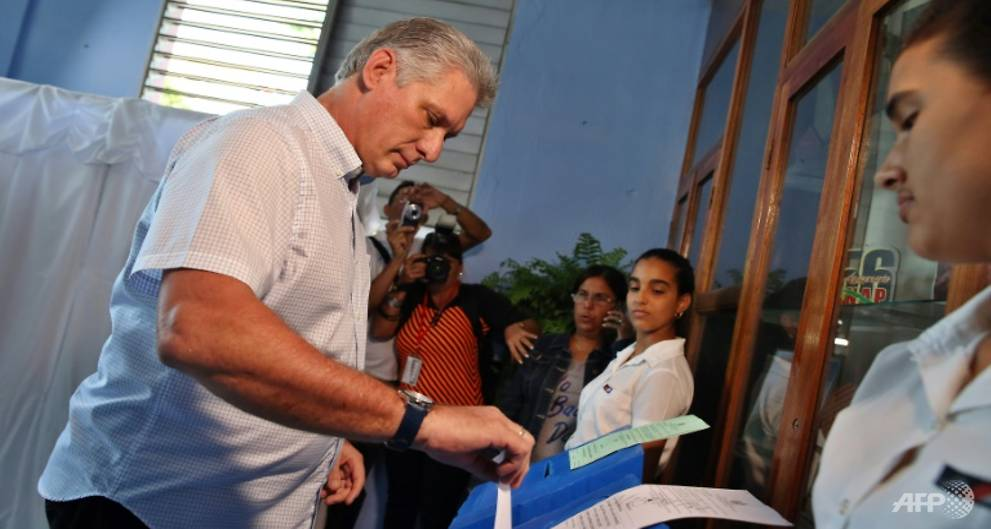 Miguel Diaz-Canel, likely leader of post-Castro Cuba