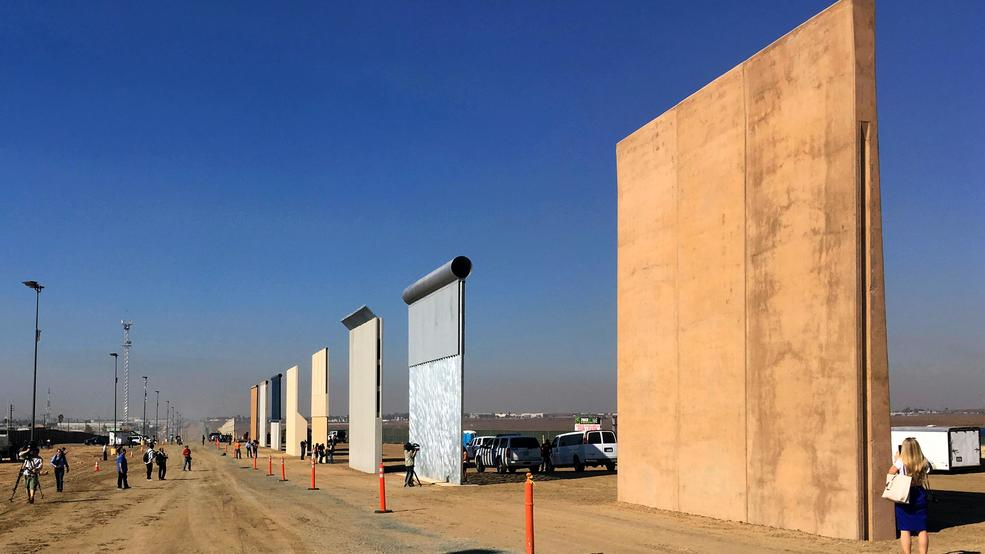 Ahead of Trump wall tour, little change on US-Mexico border