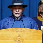 Mongolia president appeals to US for trade to protect democracy