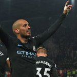David Silva double takes Man City one step closer to title