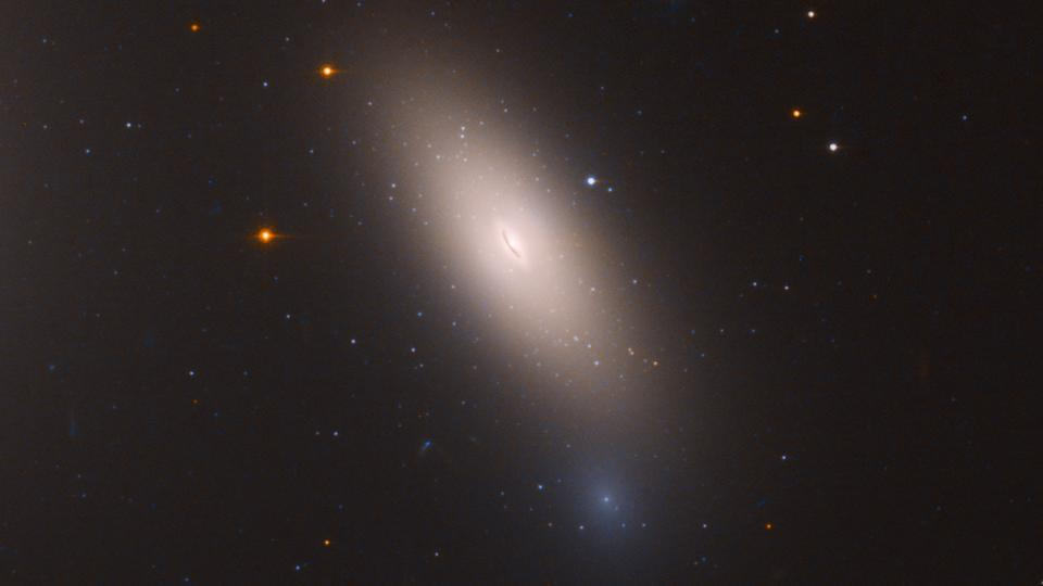 NASA's Hubble finds 'red and dead' relic galaxy near Milky Way