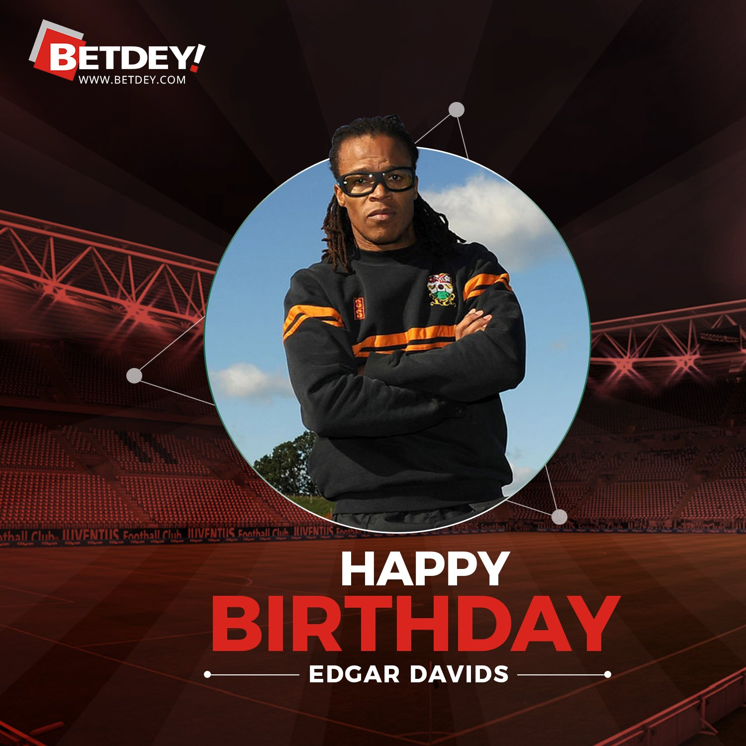Happy birthday, Edgar Davids