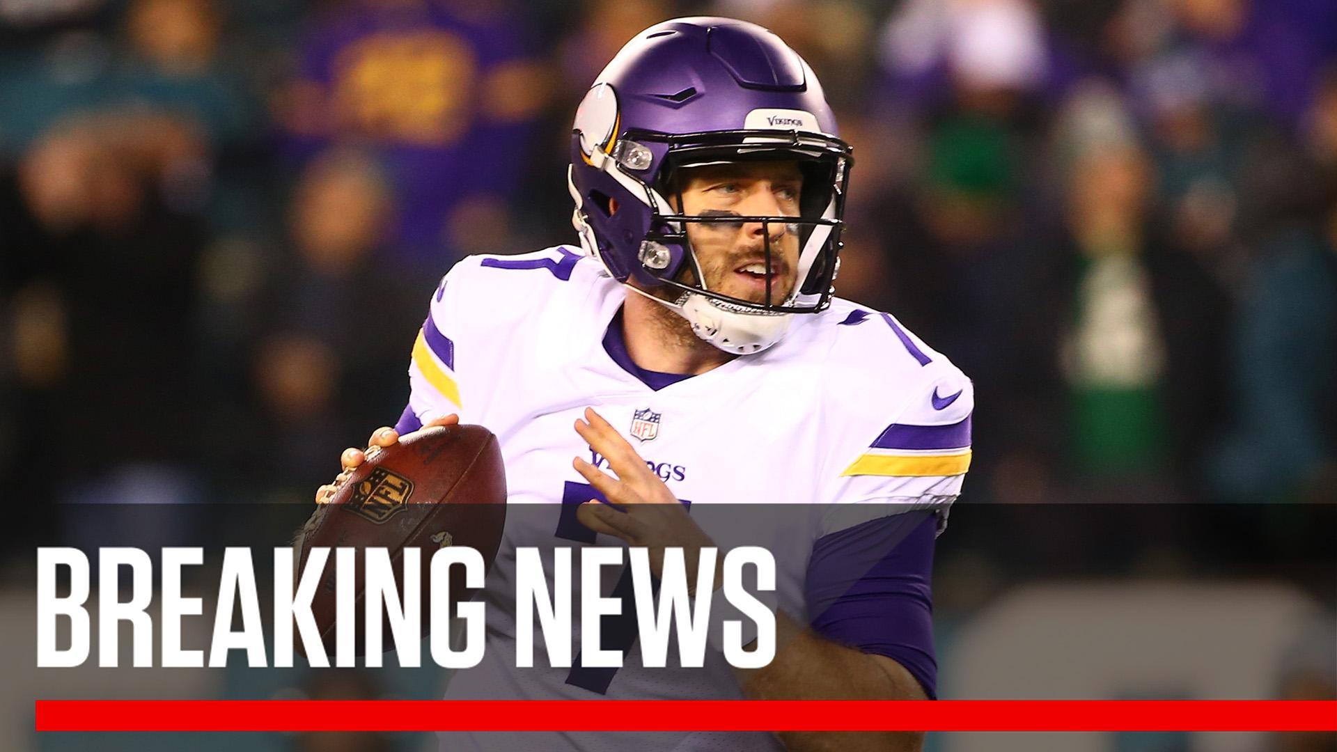 Breaking: Case Keenum intends to sign with the Denver Broncos, sources tell @AdamSchefter. https://t.co/yAJkZtzcfr