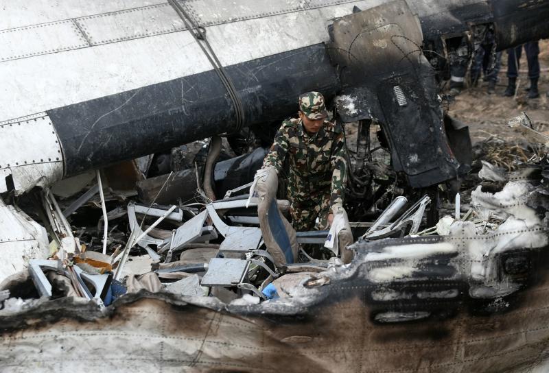 Flight data recorder retrieved from wreckage of Nepal plane crash